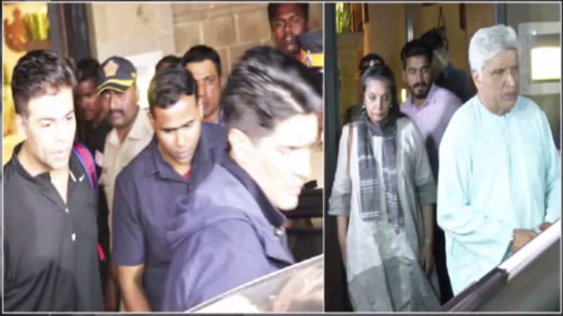 Sridevi's demise: Celebs arrive at Anil Kapoor's house to offer their condolences