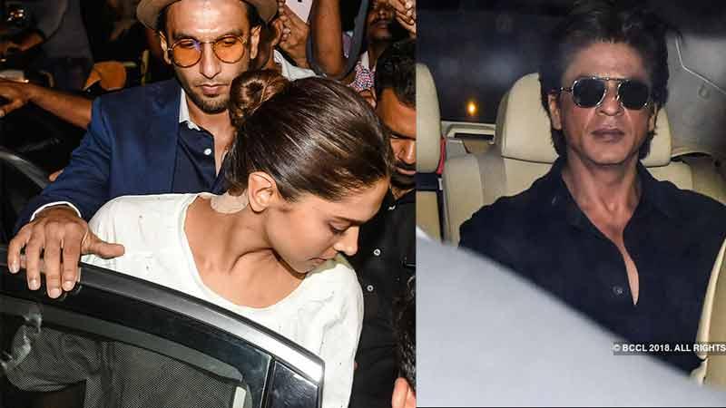 Sridevi's demise: Deepika-Ranveer, SRK-Gauri visit the Kapoor's to offer condolences