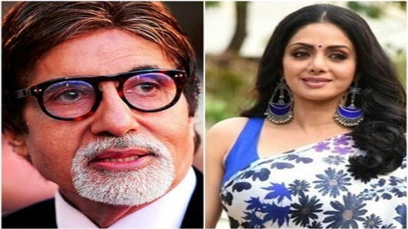 Big B's intuitive tweet before Sridevi's sudden demise