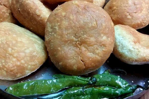 Kachori and Aloo ki Subzee