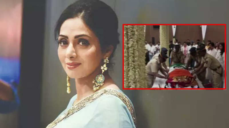 Iconic actress Sridevi gets state honour