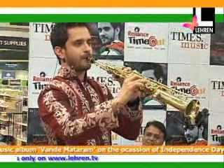 Raghav Sachar launches album 'Vande Mataram'