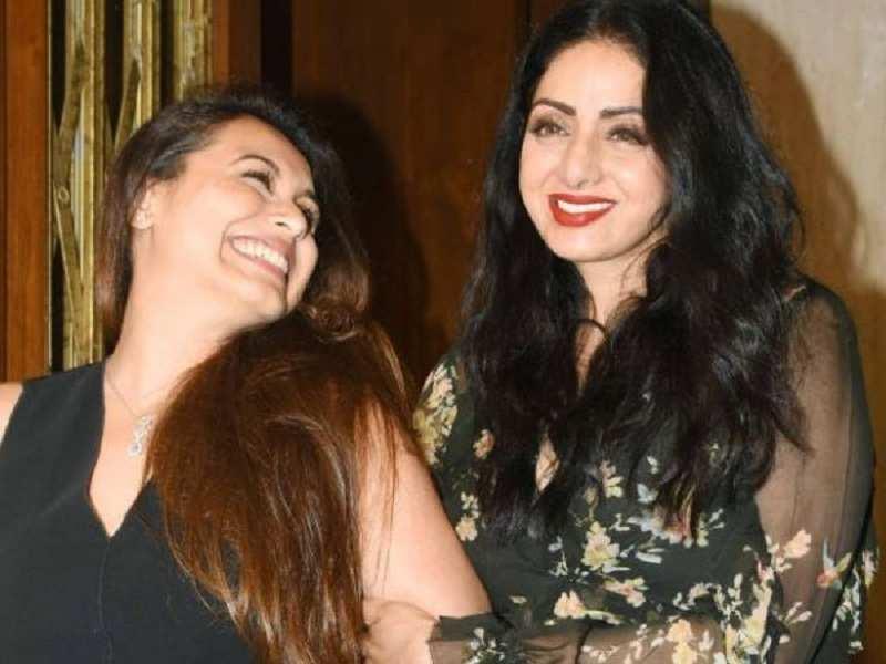 Rani Mukerji on Sridevi: For, me Sriji has been my favourite since ...