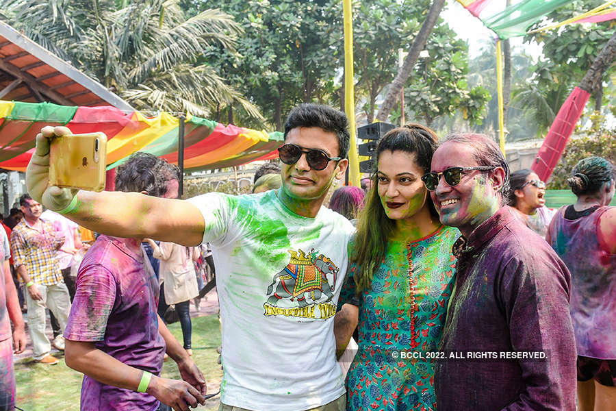 Vineet Jain's Holi Party 2018 - 3