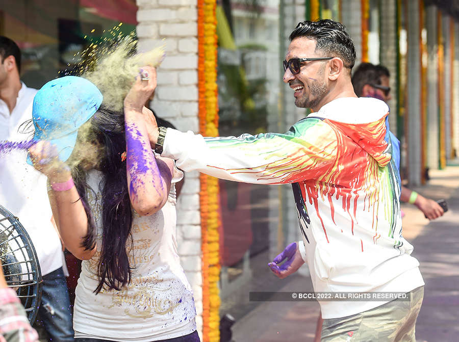 Vineet Jain's Holi Party 2018 - 3