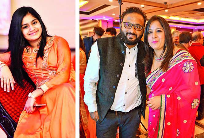 (L) Aparajita (R) Rohit and Sonam (BCCL/ AS Rathor)