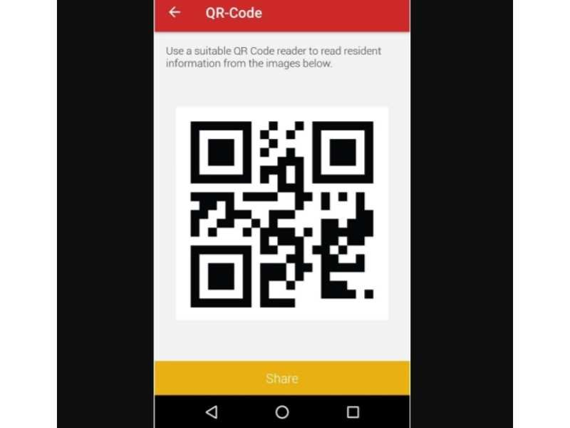 App allows users to view and share their updated Aadhaar profile via QR code
