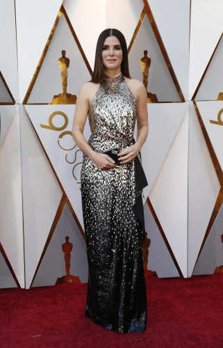Sandra Bullock at the Oscars. Photo by Reuters