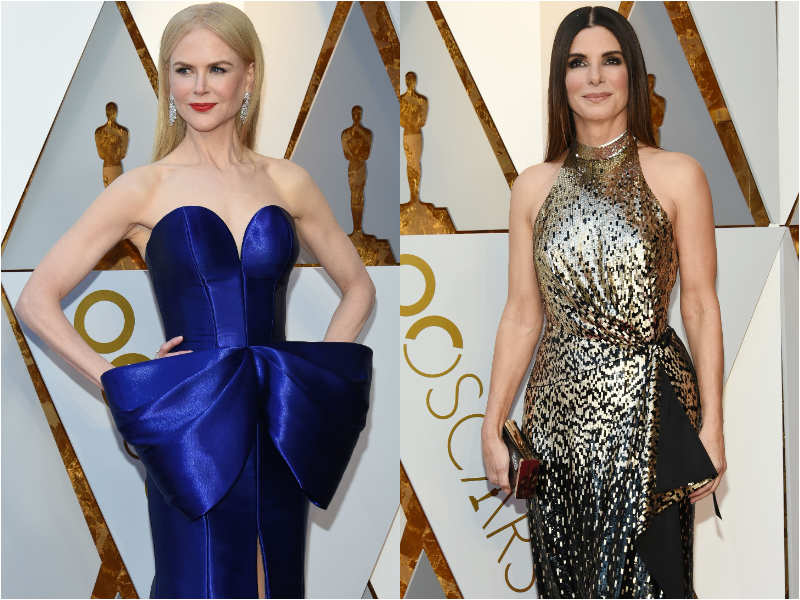 From Nicole Kidman to Sandra Bullock: Who wore what at