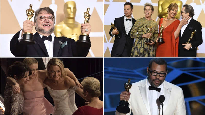 Oscars 2018: Best moments from the 90th Academy Awards