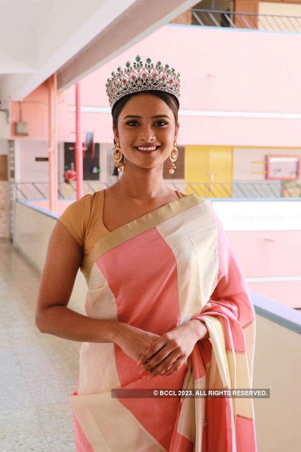 Shraddha Shashidhar graduates in style