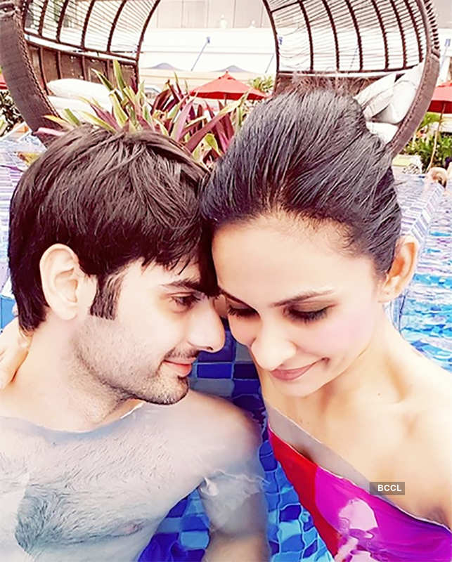 Varun Kapoor's romantic moments with wife Dhanya