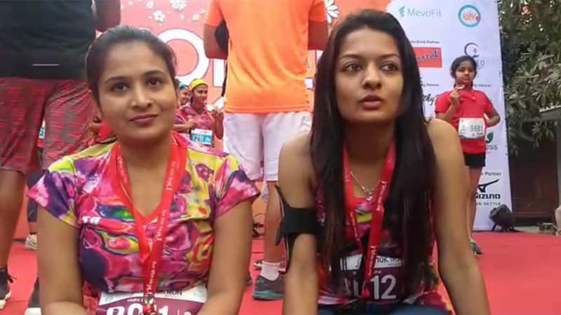 Gurgaon women say 'You Go Girl' at marathon