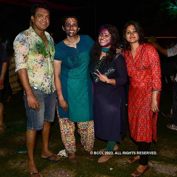 Holi festivities in the city