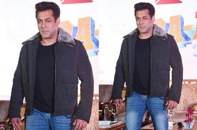 Salman khan in winter's wear