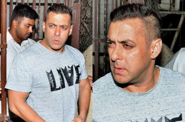 Salman khan hair-raising