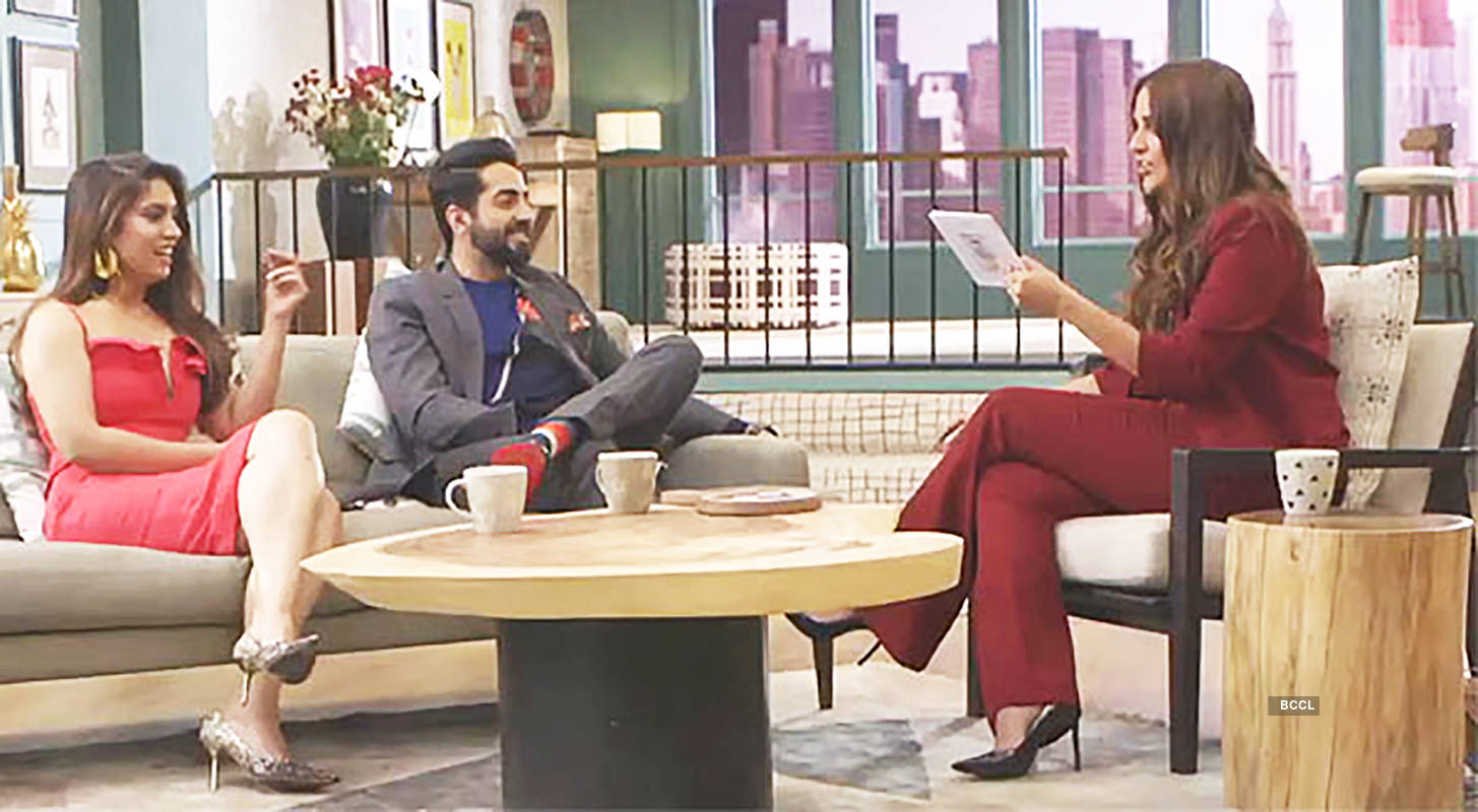 Bhumi Pednekar's boyfriend should be 'patient in bed', says Ayushmann Khurrana