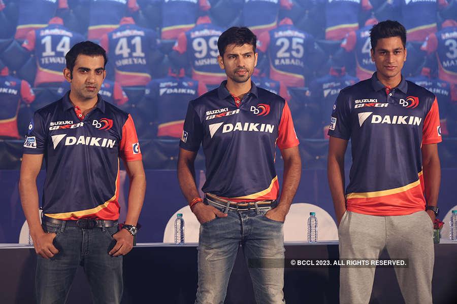 Delhi Daredevils launch their jersey