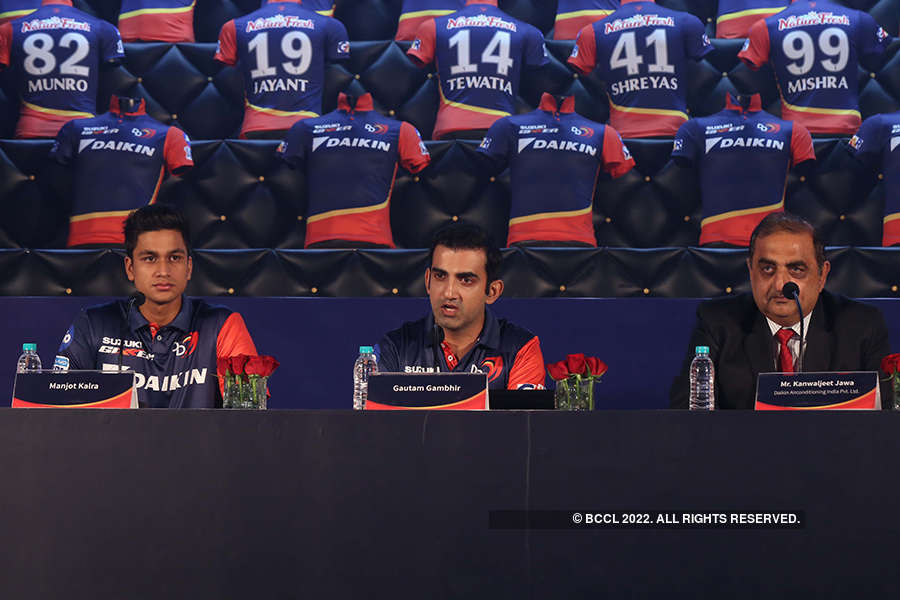 Delhi Daredevils launch their jersey