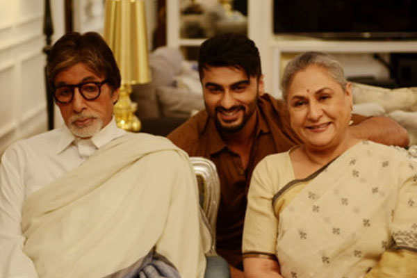 Amitabh Bachchan and Jaya Bachchan in 'Ki & Ka'