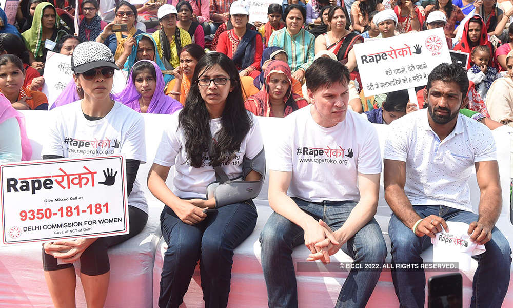 Celebs attend Rape Roko campaign