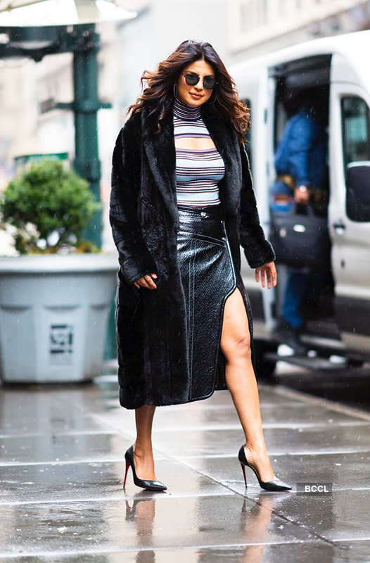 Priyanka Chopra's fashion game is always on point