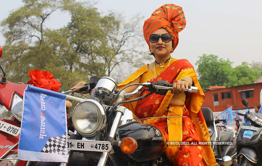 Women Bike Rally witnesses huge turnout