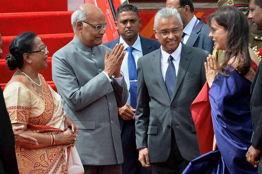 President Ram Nath Kovind visits Mauritius