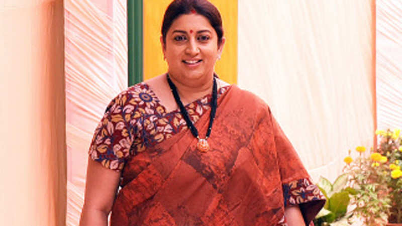 A celebration of woman power with Smriti Irani in Delhi