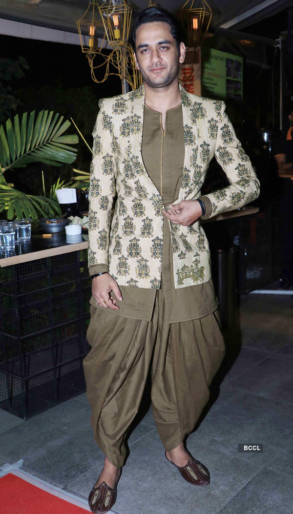 TV celebs at the launch of a clothing brand