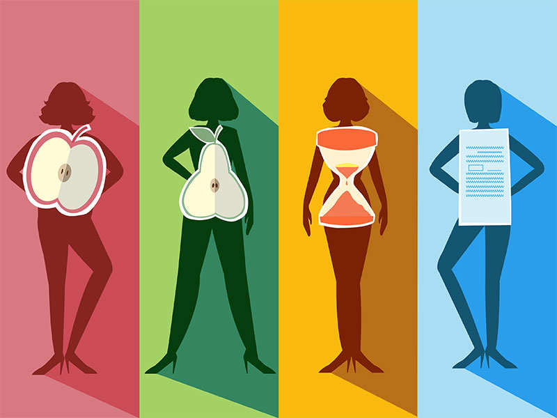 Diet chart based on your body shape