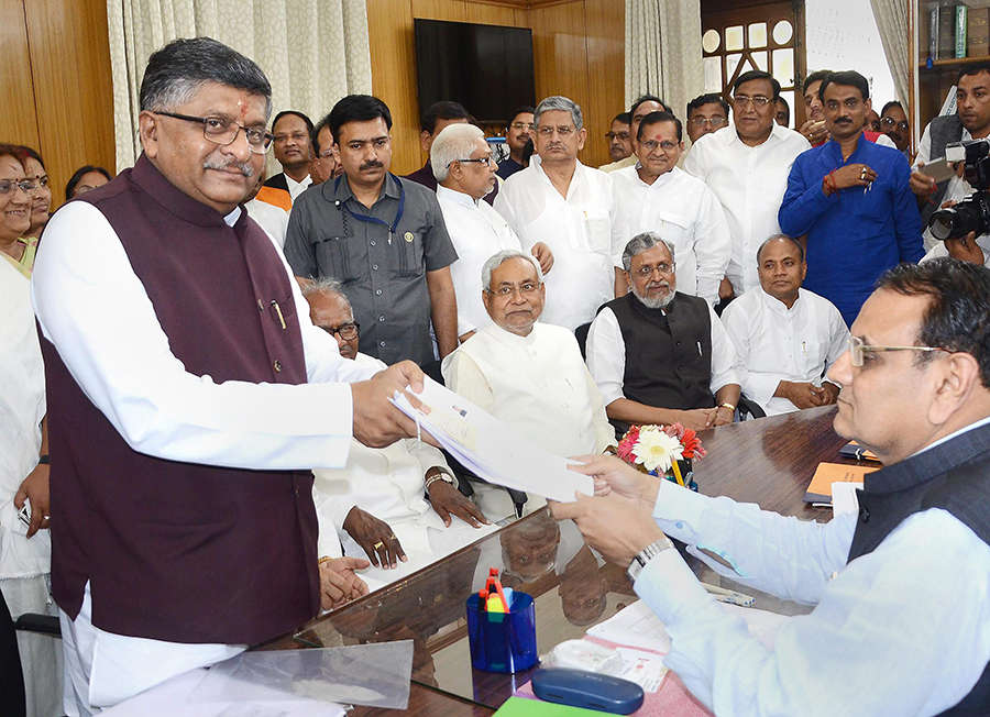 BJP candidates file nominations for RS polls