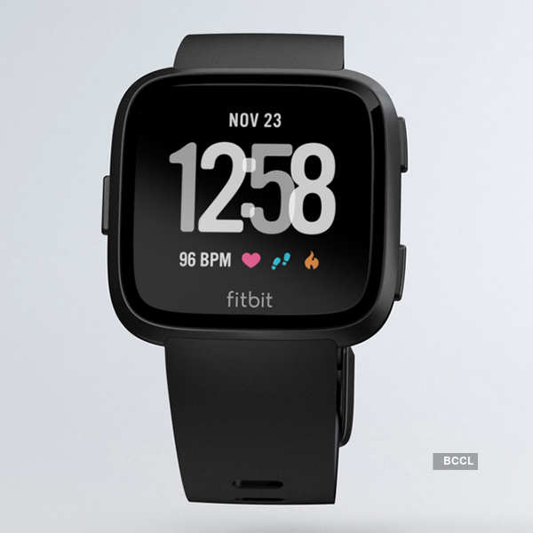 Fitbit Versa fitness smartwatch launched