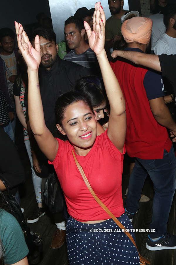Post-Holi party at UG Reincarnated
