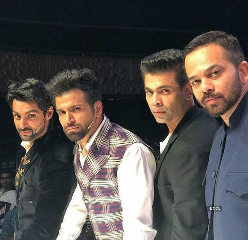 India's Next Superstars: On the sets