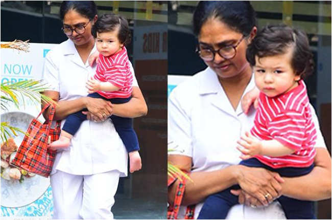 Taimur Ali Khan in Red Pictures
