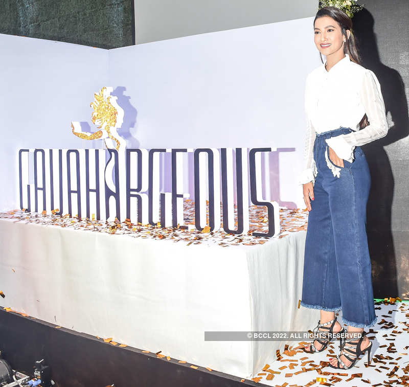 Gauahar Khan launches her clothing brand on mother's birthday