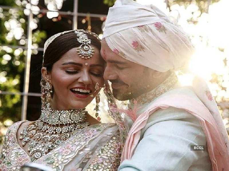 Rubina Dilaik and Abhinav Shukla tie the knot