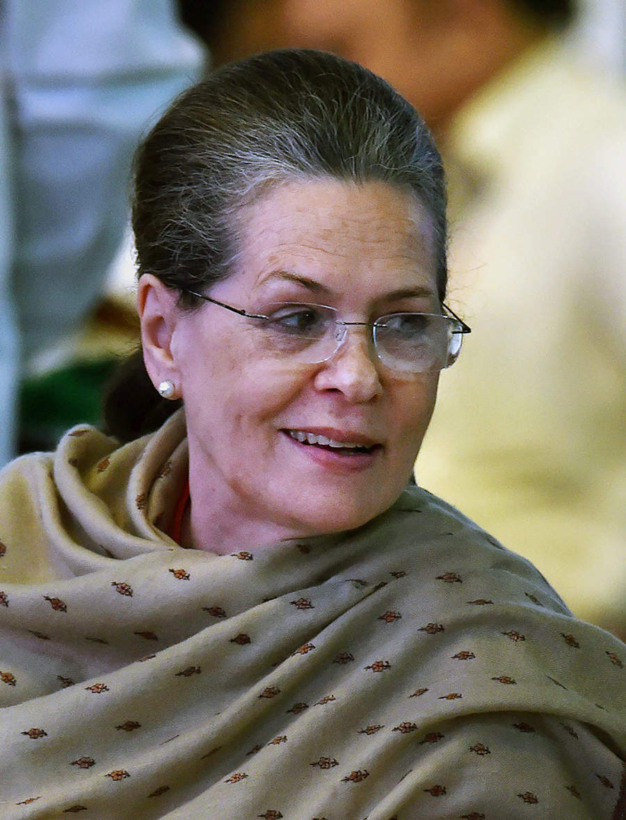 Sonia, Rahul attend Congress' 84th plenary session