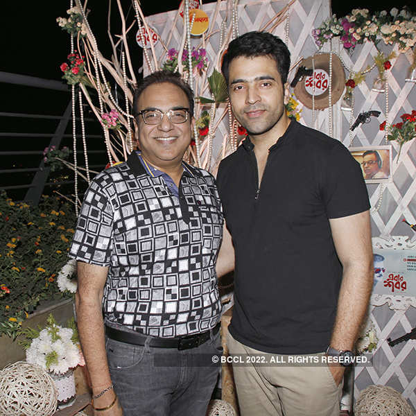 Arindam Sil's b'day celebrations