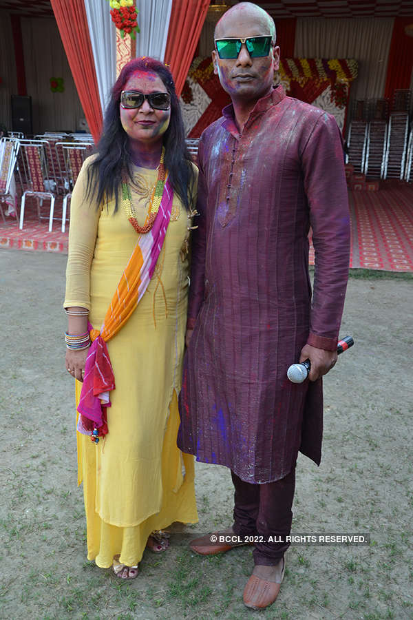 Holi party in the city