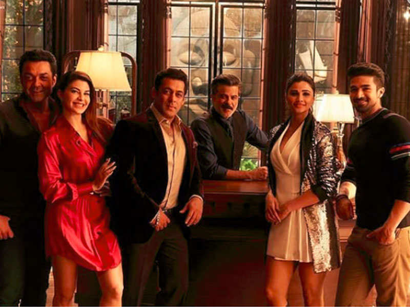 Image result for images of salman and team from race3