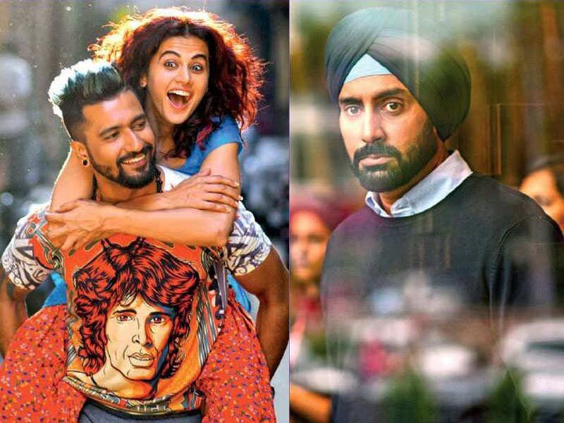 Image result for Manmarziyan Movie Taapsee Abhishek Bachchan