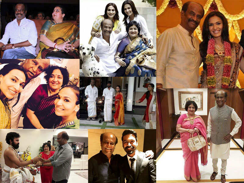 10 unmissable pictures of Rajinikanth with his family | The