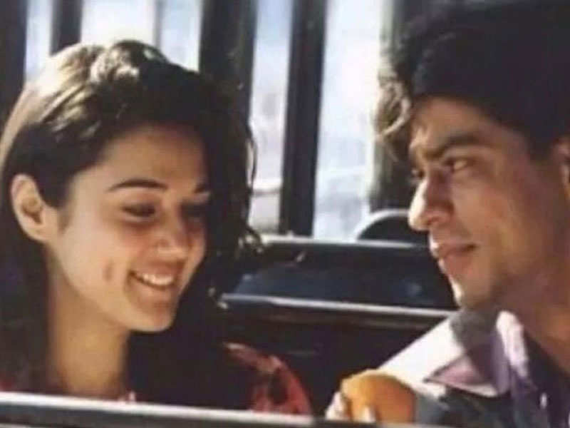 Throwback pic: Preity Zinta reminisces about her debut film 'Dil Se' opposite Shah Rukh Khan