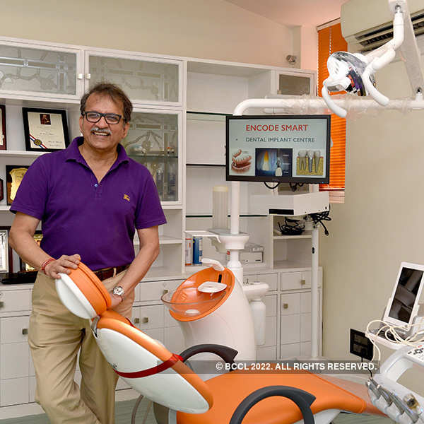 Dr Sandesh Mayekar launches dental implant centre