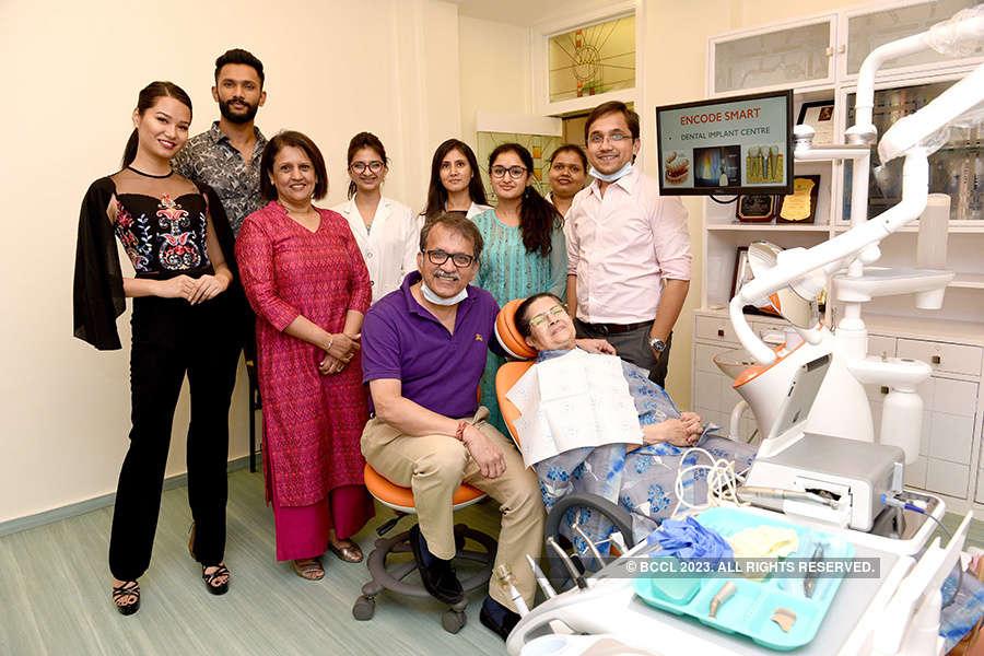 Dr Sandesh Mayekar launches dental implant centre