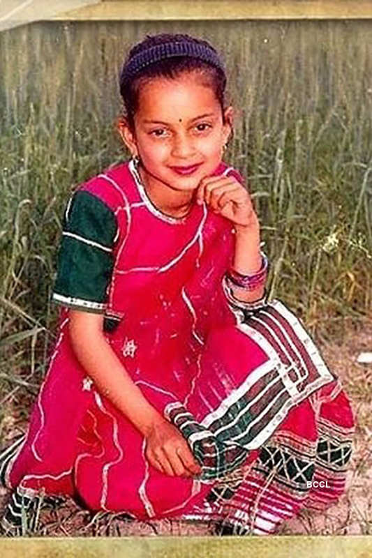 Rare and unseen pictures of Kangana Ranaut