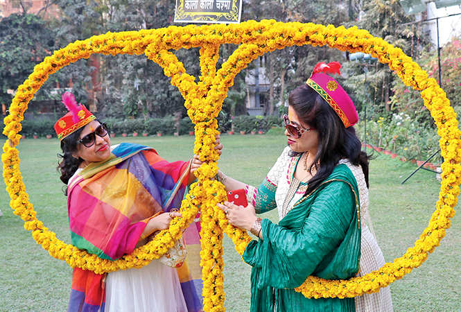 Ashruti Agrawal (L) and Palak Sahni  (BCCL/  Unmesh Pandey)