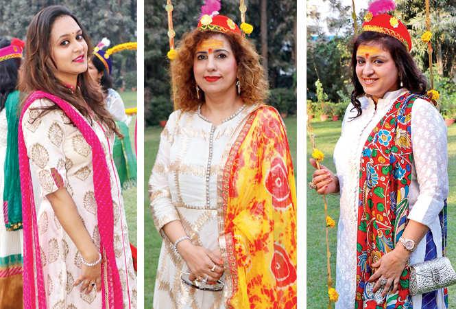 Naisha , Pooja Madhok and Preeti Talwar  (BCCL/  Unmesh Pandey)